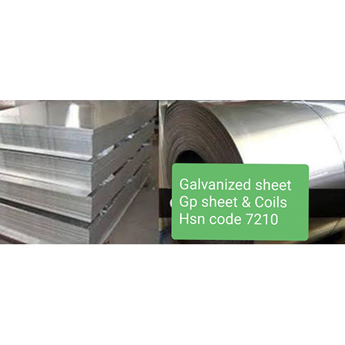 Galvanized Sheet, GP Sheet & Coils