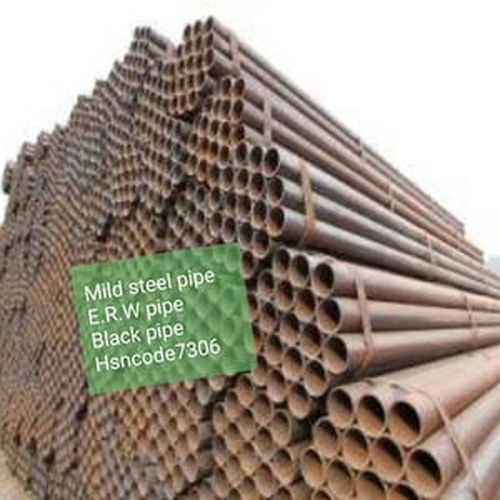 Miled Steel Pipe ERW Pipe Black Pipe