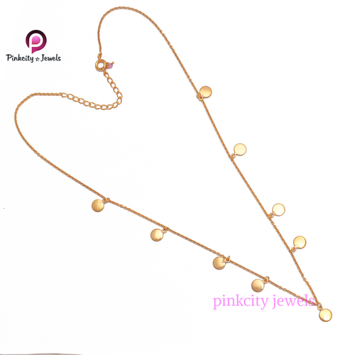 Plain 925 Sterling Silver Chain Necklace