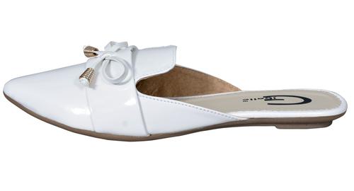 Ladies Flat Mule Loafers