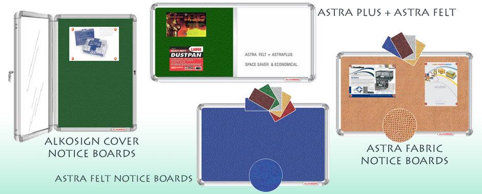 Alkosign Horizontal Sliding Board