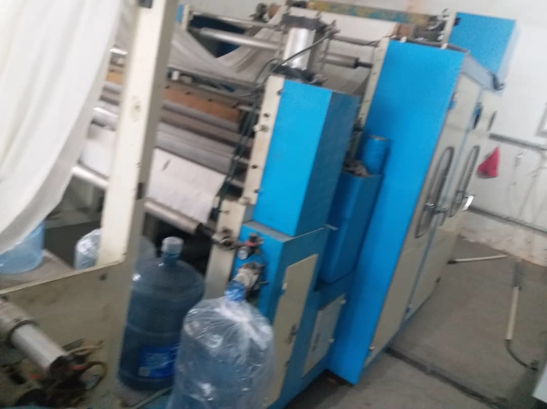 Automatic N Fold Towel Making Machine