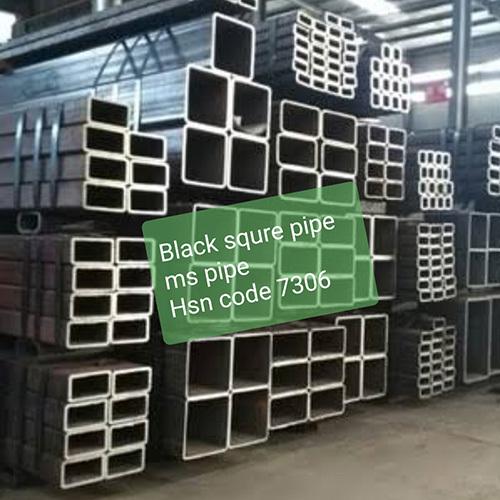 Black Square Pipe MS Pipe