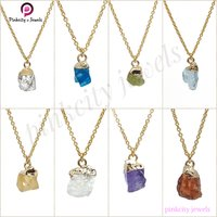 Natural Amethyst 925 Silver Chain Necklace