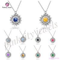 Black Onyx 925 Silver Necklace