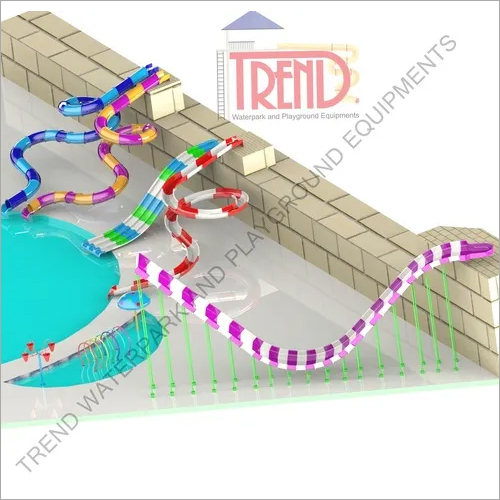 Combination waterslide