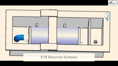 Metal Recovery Circular Cell Unit