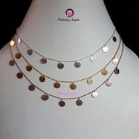 Plain 925 Sterling Silver Blanks Necklace