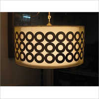 Hanging Lessuer Cut Round Lamp Shade