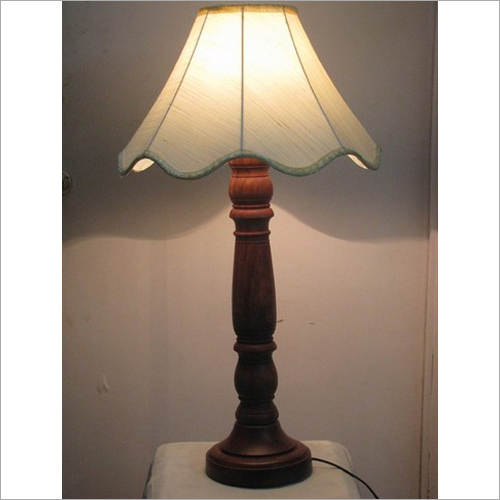 16 Inch Wood Stand Table Lamp