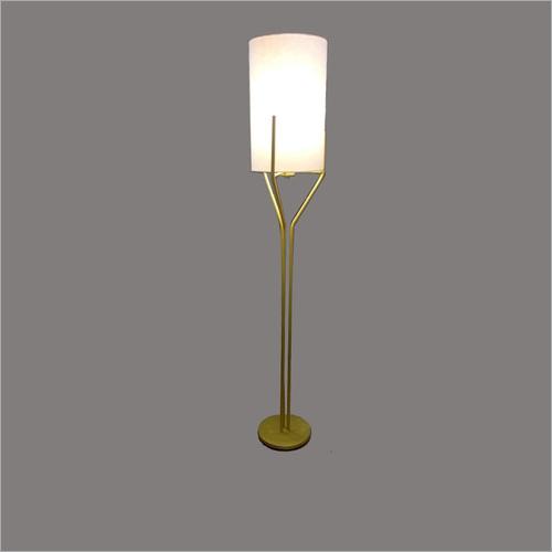 Cloth Lamp Shade Pedestal Lamp