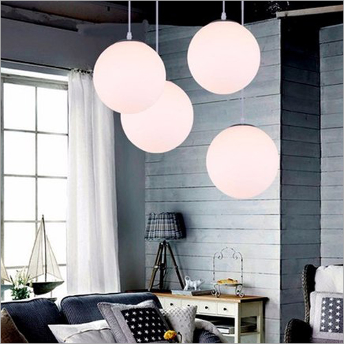 Glass Ball Hanging Lamp