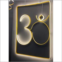 Alphabet Wall Lamp