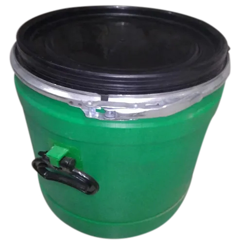 40Ltr HDPE Open Led Drum