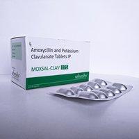 Amoxicillin & Potassium Clavulanate  375 tablets