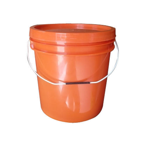 10 kg Orange plastic pesticide container
