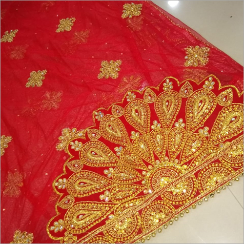Bridal Red Dupatta