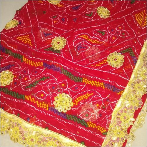 Bandhani Bridal Dupatta