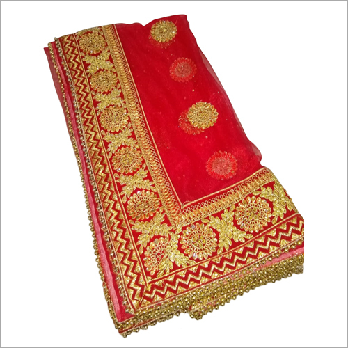 Heavy Border Bridal Dupatta
