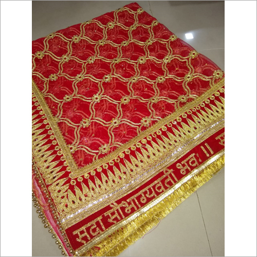 Gota Work Bridal Dupatta