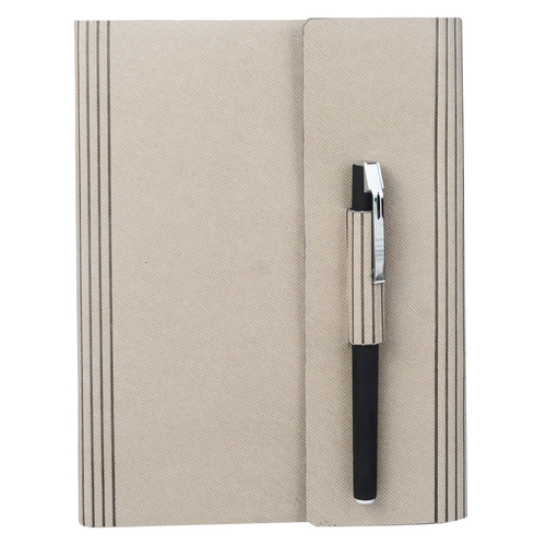 A5 Pu Color Changer Fold with Pen - 200 Pages