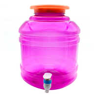 Plastic Dispenser Jar With Tap
