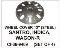 Wheel Cover 13 Inch( Steel) Santro, Indica, Wagon-R