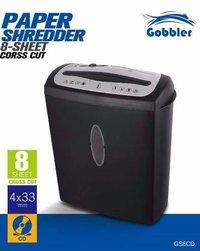 Gobbler GS8CD Paper Shredding Machine