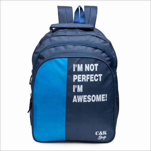 Multicolor Printed School Bag Backpack