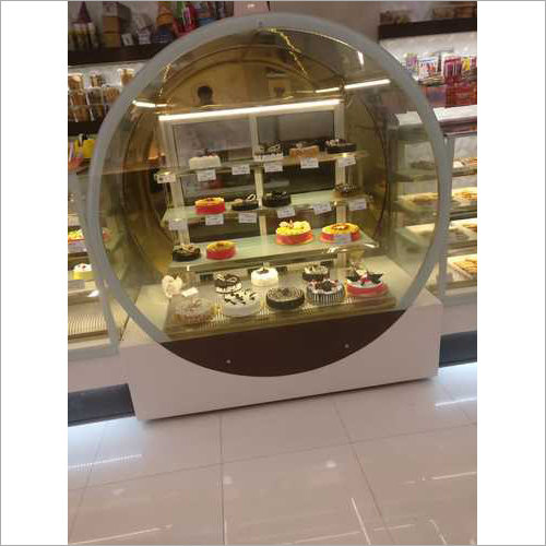 Round Pastry Display Counter