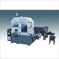 Double column horizontal circular saw machine