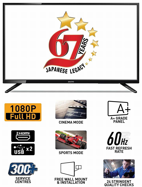 Sanyo 80cm (32 Inch) Full HD LED TV