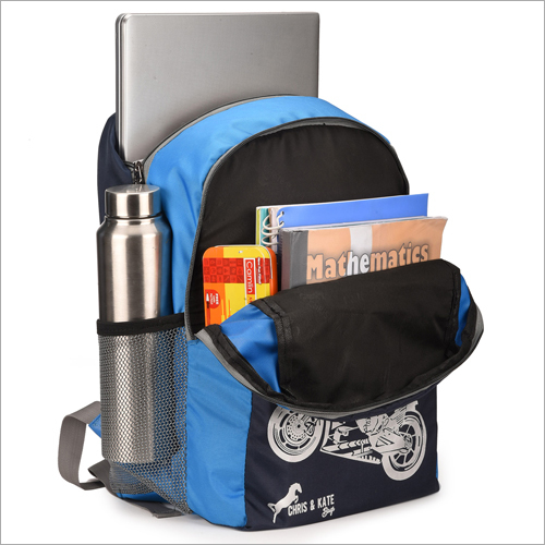 Side Pocket School Bag