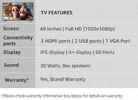 Sanyo NXT 123.2cm (49 Inch) Full HD LED TV