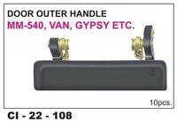 Door Outer Handle Mm 540, Van, Gypsy