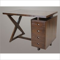 Pierre Jeanneret 4 Drawer Desk Replica