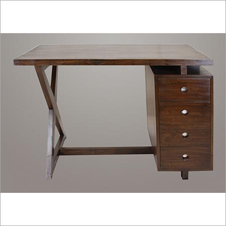 Pierre Jeanneret 4 Drawer Desk
