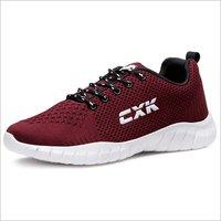 Burgundy Running Shoes
