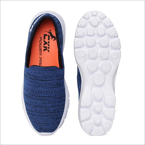 Blue Walking Shoes
