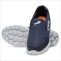 Comfortable Navy Blue Walking Shoes