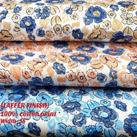 Laffer Finish 100% cotton print