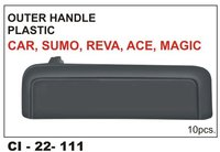Outer Handle  Plastic  Car , Sumo, Reva,Ace,Magic, L