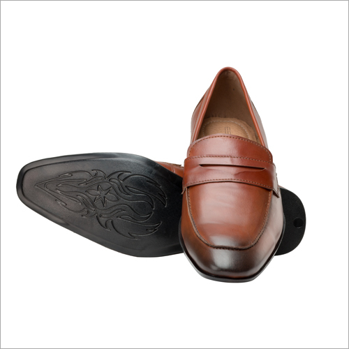 Tan Casual Slip On Shoes