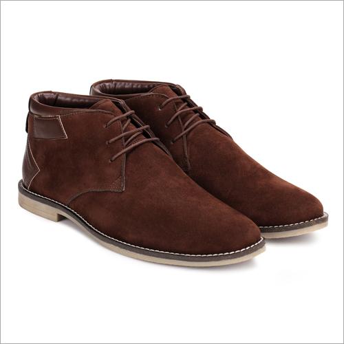 Mens Brown Casual Chukka Boots