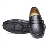 Mens Black Loafer Shoes