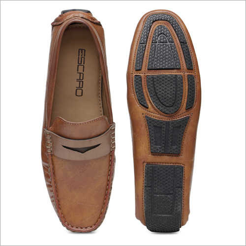 Mens Tan Loafer Shoes