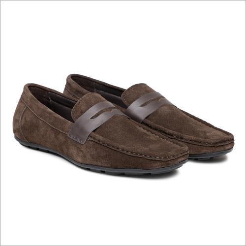 Mens Plain Loafer Shoes