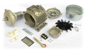 Kit for the Construction of Asynchronous Motors