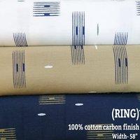 Ring 100% cotton carbon finish