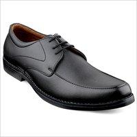 Mens  Black Formal Derby Lace Up Dress Shoes